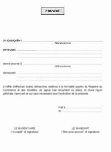 Documents Pour Compromis De Vente : mod le de lettre lettre de procuration pouvoir pour cfe la lettre mod le ~ Gottalentnigeria.com Avis de Voitures