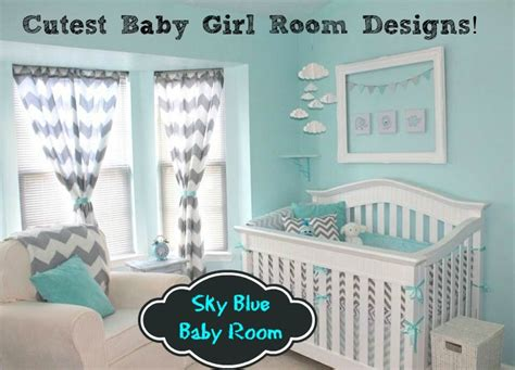 baby blue rooms trend alert sky blue design for baby girl s room baby room ideas