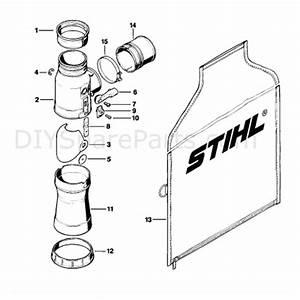 Stihl Br 380 Backpack Blower  Br 380  Parts Diagram