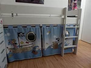 Paidi Vorhang Set : paidi vorhangset pirat hellblau wie neu in erlangen kinder jugendzimmer kaufen und ~ Frokenaadalensverden.com Haus und Dekorationen