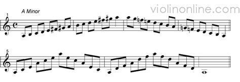 violin   octave melodic minor violin scales