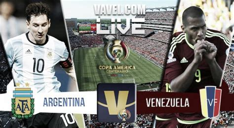 Argentina Vs Venezuela Live Result And Copa America