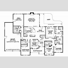 Ranch House Plans  West Creek 30781  Associated Designs