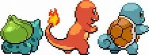 gif pokemon pixel charmander Bulbasaur Squirtle videogame ...