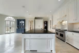 white kitchen wood island kitchens with white cabinets casual cottage