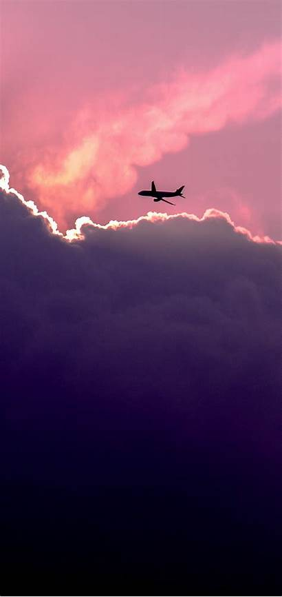 Clouds Sky Plane 1440 Wallpapers