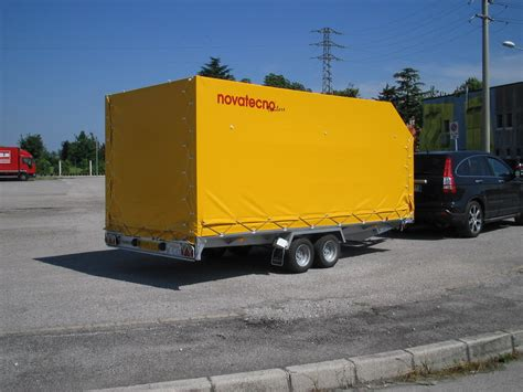 carrello porta auto usato realizzazione di rimorchi per auto novatecno