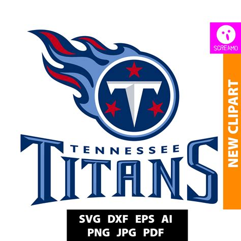 Free svg image & icon. TENNESSEE TITANS SVG cut files print files clipart vector