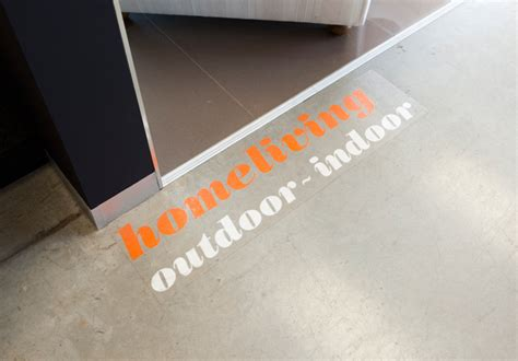 floor graphics rabbit signs adelaide