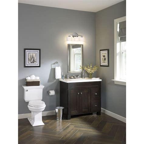 Common Bathroom Colors by Shop Palencia Espresso Contemporary Birch Bathroom