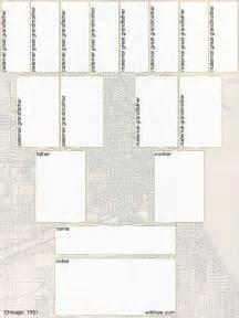 Printable Blank Family Tree Diagram