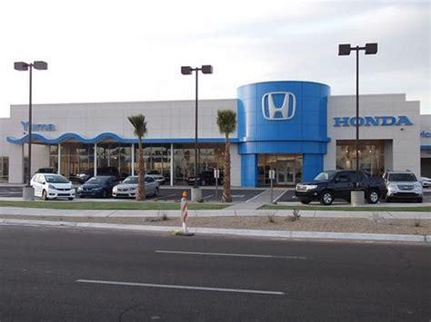 Yuma Honda Car Dealership In Yuma, Az 85365-3429