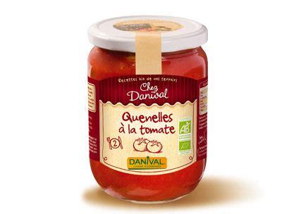 sauce tomate cuisin馥 quenelles à la tomate 490g danival