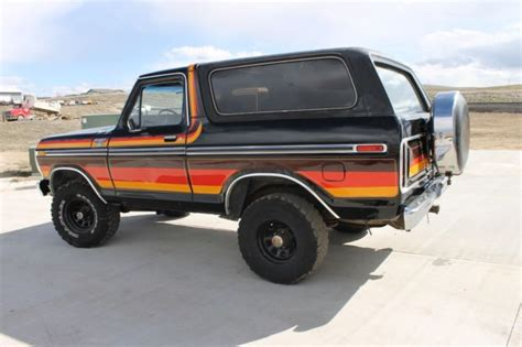 1979 ford bronco ranger 4x4 for sale ford bronco xlt 1979 for sale in wyoming