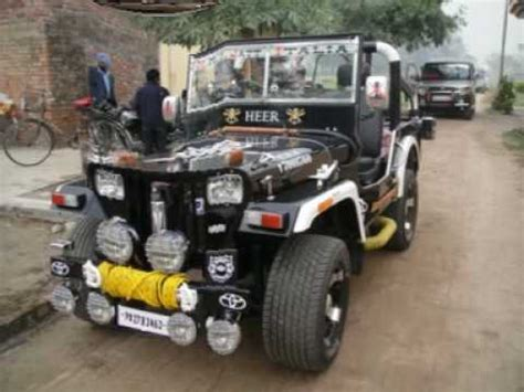 punjabi open jeep landi jeep rahon s b s nagar punjab