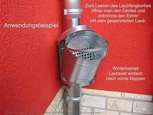Dachrinne Reinigen Ohne Leiter : zink fallrohr laubfang d 120mm laubf nger laubfangkorb ~ Michelbontemps.com Haus und Dekorationen