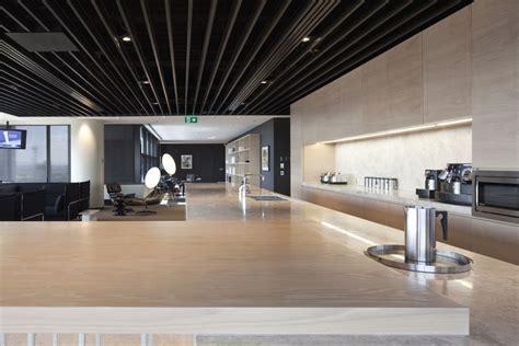 bureau interiors pantry of simple but professional office interior design