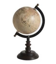 Globe Terrestre Bois : globe terrestre style ancien base noire ~ Teatrodelosmanantiales.com Idées de Décoration