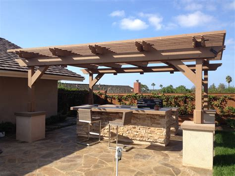 image free standing covered patio deck