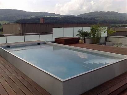 Skimmer Pool Pools Infinity Niro Infinitypools Edelstahlpool