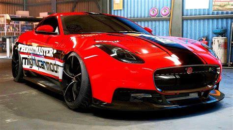 Jaguar F-type R Drift Build