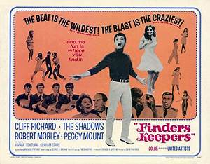 FINDERS KEEPERS 1966 - Movie on DVD! - Cliff Richard ...