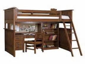loft bed desk combo home interior design