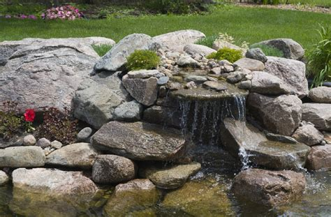 How To Build A Small Pond In Your Backyard by How To Build A Waterfall For Your Pond Blain S Farm