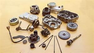 Assembling Cd-70  Sr-70 Motorcycle Engine
