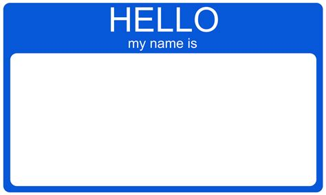 hello my name is template name tags archives just shine on