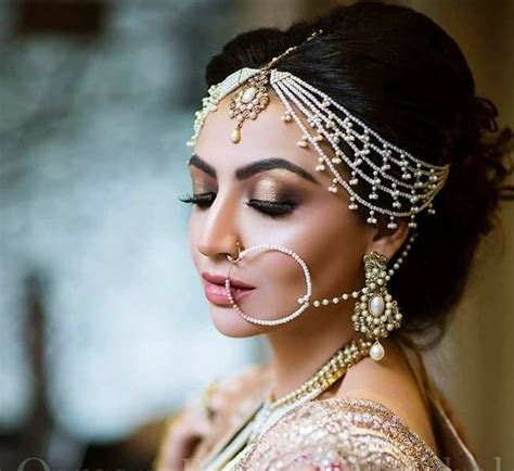beautiful nose rings that can add charm to your bridal look