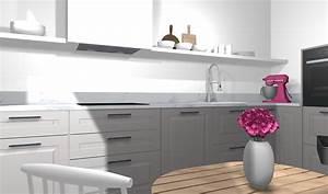 Ikea Schubladenschrank Küche : ikea k che planen stylische designerk che mit kleinem budget ~ Orissabook.com Haus und Dekorationen