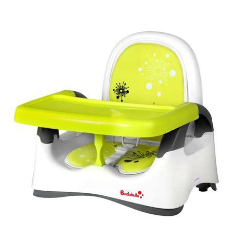 siege auto pour bebe de 6 mois badabulle réhausseur confort blanc vert blanc vert