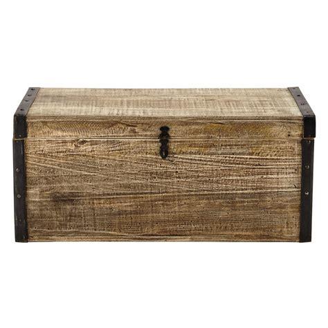 canapé avec coffre en bois l 80 cm kaelig maisons du monde