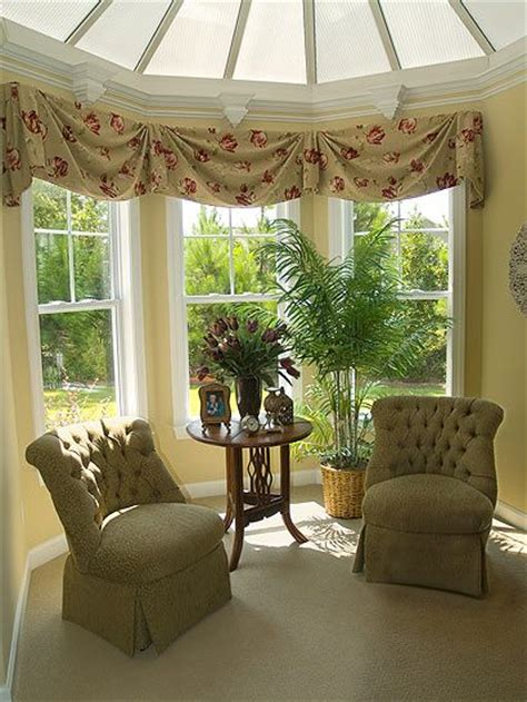 17 best ideas about bow window curtains on