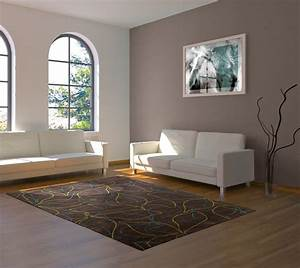 best salon moderne images doztopous doztopous With tapis de couloir beige