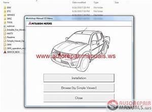 Mitsubishi L200 2011 Service Manual