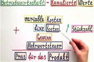 Gewinnmaximum Berechnen Mathe : video kumulierte werte eine einfache erkl rung ~ Themetempest.com Abrechnung