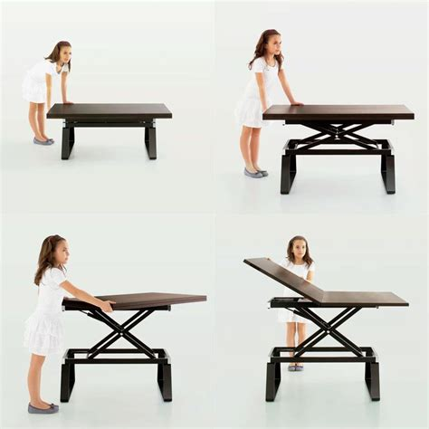 This type of furniture cuts down on consumption because you have one piece of furniture that has multiple uses. Top 10 Convertible Coffee Tables with Shipping to USA | Coffee table convert to dining table ...