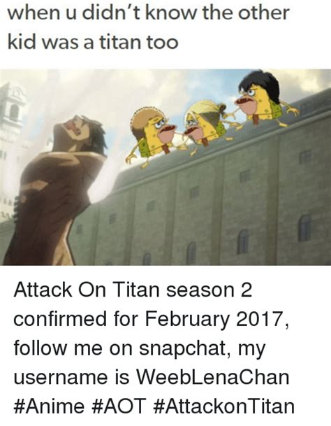 Attack On Titan Season 2 Memes - funny attack on titans memes of 2016 on sizzle