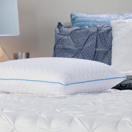 bed pillows walmart sealy memory foam bed pillow walmart
