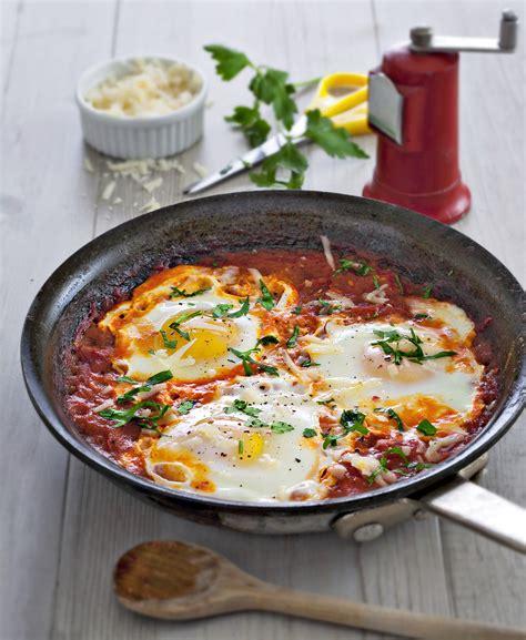 cuisine lorraine recette œufs frits à la sauce tomate régal