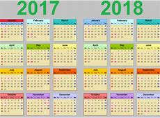 2017 2018 Calendar School Gallery