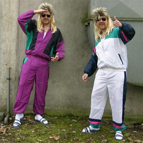 verkleidung 80er 80er 90er proll trainingsanzug assi asi sportanzug karneval kost 252 m kleidung ebay