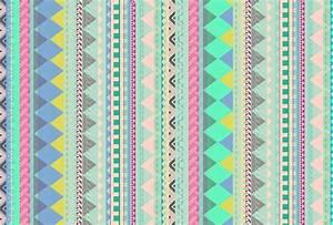 VASARE NAR ILLUSTRATION PORTFOLIO - Pastel Aztec pattern ...