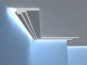Led Indirekte Deckenbeleuchtung : deckenbeleuchtung led lo15 stuck aus styropor ~ Watch28wear.com Haus und Dekorationen