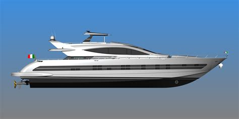 The Open Boat Lines Of Philosophy by Superyacht Cerri 102 Flyingsport Hull N 176 3 Sold By