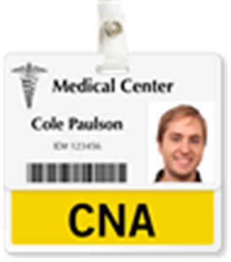 Nursing Supervisor Badge Buddy For Horizontal Id Cards Cna Certified Nursing Assistants Badge Buddy Horizontal