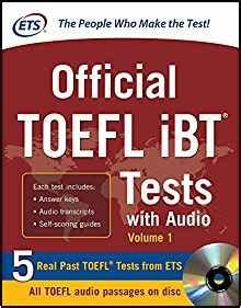 Official TOEFL iBT Tests with Audio: Educational Testing ...
