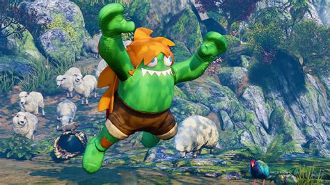 Blanka Is Coming To Street Fighter 5 Arcade Edition Next